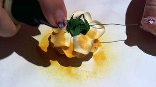 Starburst sprayed flower 5